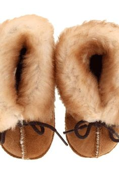 Minnetonka Kids Genuine Sheepskin Bootie (Infant/Toddler) (Golden Tan Sheepskin) Kids Shoes - Minnetonka Kids, Genuine Sheepskin Bootie (Infant/Toddler), 1462, Footwear Boot General, Boot, Boot, Footwear, Shoes, Gift, - Fashion Ideas To Inspire
