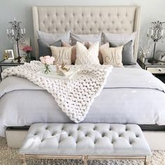 23 super Ideas for bedroom colors ideas for women shabby chic - 23 super Ideas . - 23 super Ideas for bedroom colors ideas for women shabby chic – 23 super Ideas for bedroom color - Woman Bedroom, Dream Bedroom, Home Decor Bedroom, Master Bedroom, Bedroom Ideas, Shabby Chic Bedrooms, Trendy Bedroom, Modern Bedroom, Shabby Chic Pillows