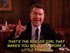 mine french Twin Peaks david lynch shelly johnson gordon cole twinpeaksgifs