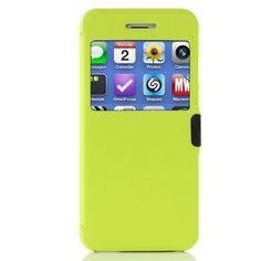 iPhone 6 / 6s Handyhülle Original UrCover® View Hülle Case für das Apple iPhone 6 / 6s Schutzhülle Schale Etui Cover [DEUTSCHE MARKE] Hell Grün 9,90€