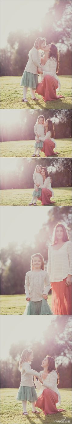 San Diego Mother + Daughter Portraits || Powell Woulfe Photography
