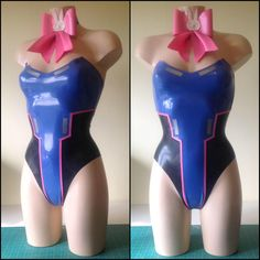 Rubber Latex D.VA Overwatch Bunny Inspired Outfit by ShhhCoutureLatex on Etsy https://www.etsy.com/listing/459600928/rubber-latex-dva-overwatch-bunny
