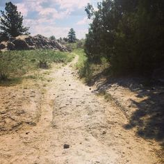 Oregon Trail Ruts in Guernsey, WY