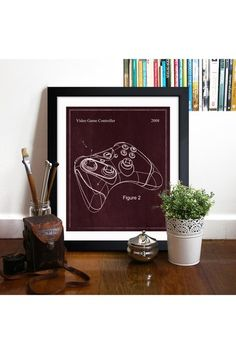 Video Game Controller 2008 Framed Art Print