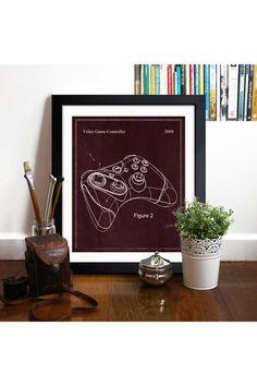 Video Game Controller 2008 Framed Art Print