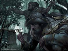 Mais incríveis ilustrações de fantasia para o game Magic: the Gathering de Chris Rallis
