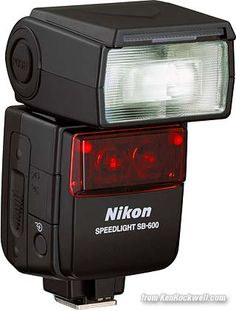 Nikon SB-600 Speedlight flash... Primary flash for my D90. Excellent and way lighter then the SB-800 I had.
