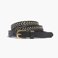 madewell arrowpoint belt.