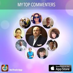 According to @InsTrackApp here are my top commenters @mohamadinsouli @xomactweetie @pat_vanoeveren and others! #InsTrack #shoutout #shoutouts