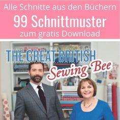 Great British Sewing Bee - Schnittmuster Download - Nähtalente