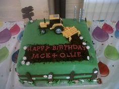 Children's Farm Birthday Cake