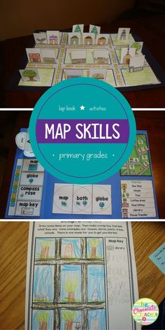 Are you looking for a fun unit to teach mapping skills? This is an engaging unit for your first and second grade students. There are plenty of hands on activities, including a lap book, map, and worksheets. Kindergarten Social Studies, Teaching Social Studies, Student Teaching, Teaching History, First Grade Activities, Hands On Activities, Book Activities, Steam Activities, Student Led Conferences