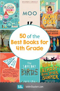 60 of the Best Books for 4th Grade