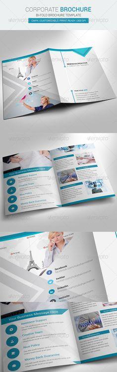 Bi Fold Brochure Corporate - Corporate Brochures