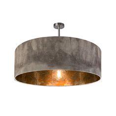 Grey Ombre & Copper Slate Electrified Pendant Shade Copper Wallpaper, Metal Tile, Copper Interior, Rustic Tile, Slate Wallpaper, Rustic Lamps, Ceiling Shades, Vintage Bulb, Copper Lamps