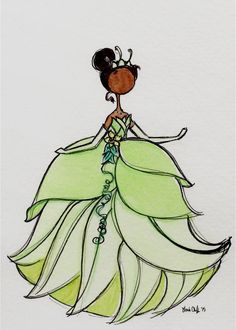 The Art of Leah T. — I finally got my princesses up on Etsy! ...