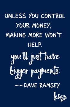 25 Dave Ramsey Quotes to Keep You Disciplined – Finance tips, saving money, budgeting planner Financial Quotes, Financial Peace, Financial Tips, Financial Literacy, Financial Planning, Mantra, Dave Ramsey Quotes, Just In Case, Just For You
