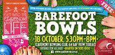 barefoot bowls invitation - Google Search