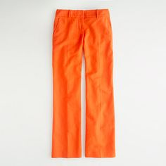 J.Crew Factory Addison trouser in linen-cotton - these fit great, and I LOVE the color, but not in love with the linen & amount of ironing that would be required, I'll hold out for an all cotton version...