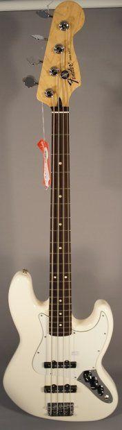 NEW! Fender Standard Jazz Bass® White | Reverb