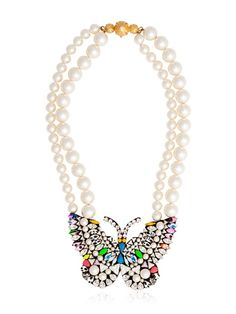 Shourouk Butterfly Necklace