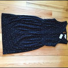 NEW Loft Dot Dress FINAL PRICE LISTEDso Cute LOFT Dot Dress. Zipper back with ribbon tie at neckline. Cinched waist with lining. Super flattering fit!!!  This is stunning!no tradeno PPPRICE FIRM LOFT Dresses