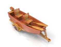 Little Fishing Boat by Lloydswoodtoyplans on Etsy