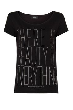 Dear Stitch Fix stylist, I am looking for a long sleeve black graphic tee with a positive message.  <3