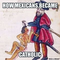 How all of Latin America became catholic.......How enslaved Africans became protestant as well.....