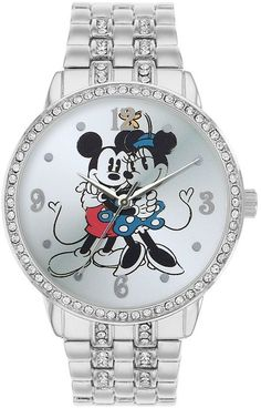 Disney mickey mouse & minnie mouse watch