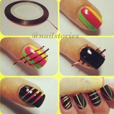 Cute & easy nailart