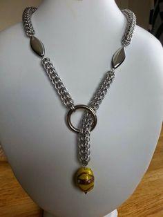 """Tezzan Design: Halsband med """"ägg"""""""