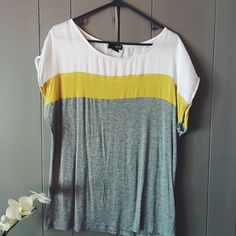 Ana tshirt Easy top, lightweight. Would go with anything. Has been worn a good bit but still very wearable and in good used condition. a.n.a Tops Tees - Short Sleeve