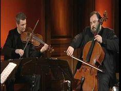 ▶ Le Quatuor Debussy joue l'adagio de Barber - YouTube