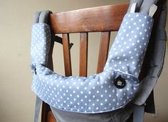 ERGO 360,WATERPROOF BIB,Drool pads,Baby Carrier Strap Cover,Teething Bib,Sucking Pads,Baby Carrier Accessory,Blue White Polka Dots --$29.8 by Jingle Bib