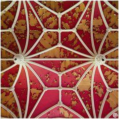 Ceiling of castle Miranda