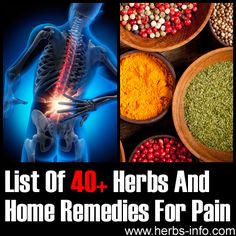We've collected up in one place all our posts about herbal and natural remedies for pain. Tons of great info here - bookmark and share this page so that you can find it when you need it!