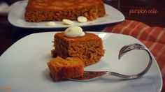 My healthy version of pumpkin cake