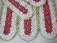 Christmas Baby Crochet Baby Girl Baby Boy Lacy by AfghansForBabies, $65.00