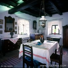 Hungarian folk architecture from the north of Hungary