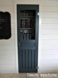 DIY screen door for pantry