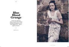 Twin Magazine - Blue Blood Grunge