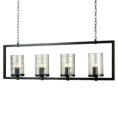 Longhope Linear Suspension by Currey and Company