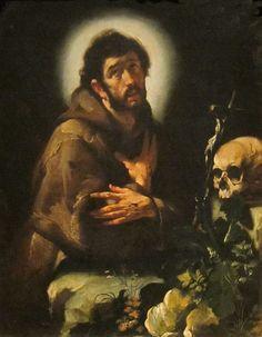 Ο Άγιος Φραγκίσκος σε έκσταση  (1615-18) Ινστιτούτο Τεχνών του Ντέιτον των Η.Π.Α.