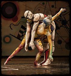 "Danza: Photo ""Mondrian y Kandinsky"" by Txema Lacunza  #500px http://500px.com/photo/3058999"
