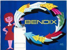 Bendix by Morvan, Herve | Shop original vintage posters online: www.internationalposter.com