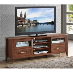 ... TV Stand  TV stands  Pinterest  Tv Consoles, TVs and Tv Stands