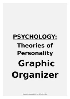 definition and related theories of personality psychology essay Psychology term papers (paper 12997) on personality psychology : it s been stated, the concept of personality is a broad one the personality theorist has an interest in what individual human beings think, feel  term paper 12997.