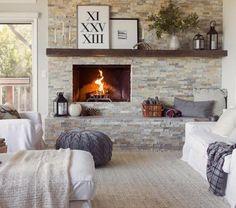 manteau-de-cheminée-parement-ardoise-étagère-murale