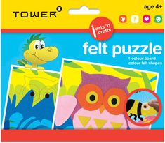 Match the adhesive felt shapes to the picture board to finish your puzzle. Office Organisation, Picture Boards, 3d Puzzles, Colour Board, Adhesive, Arts And Crafts, Tower, Felt, Shapes